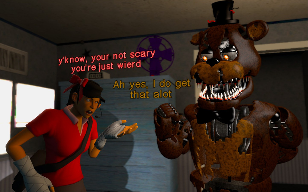 how to make fnaf not scary