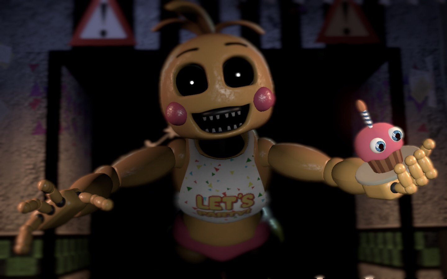 Toy Chica Jumpscare Remake (new Gmod map) by ...