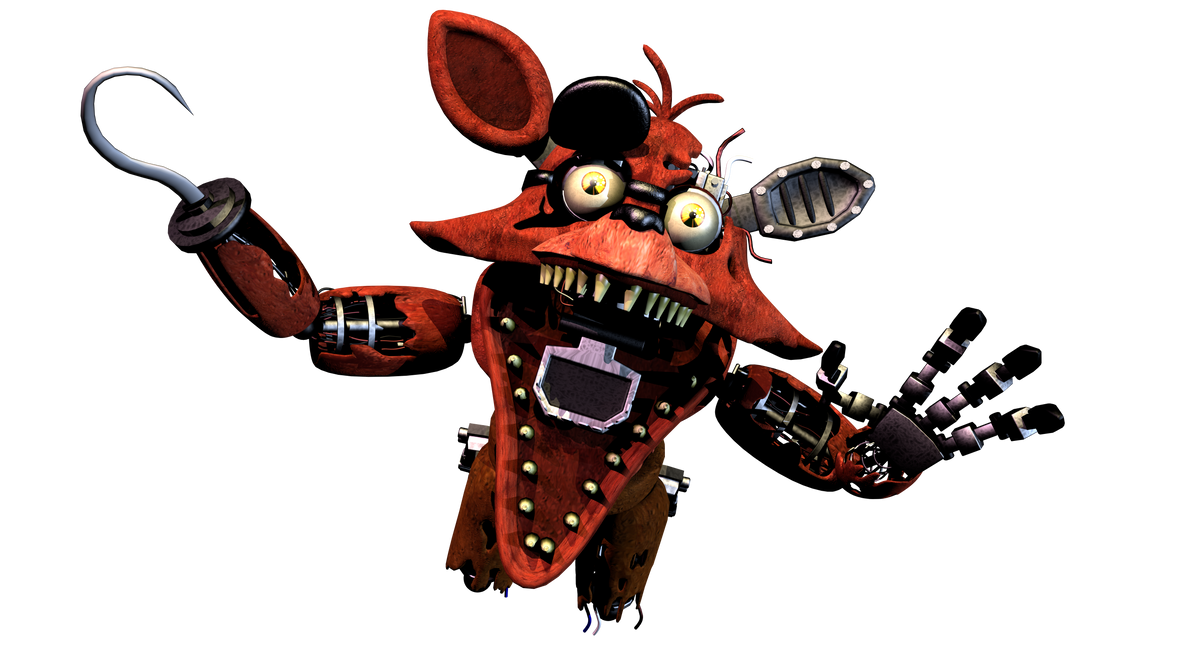 Withered Foxy Jumpscare Remake by AndyPurro on DeviantArt