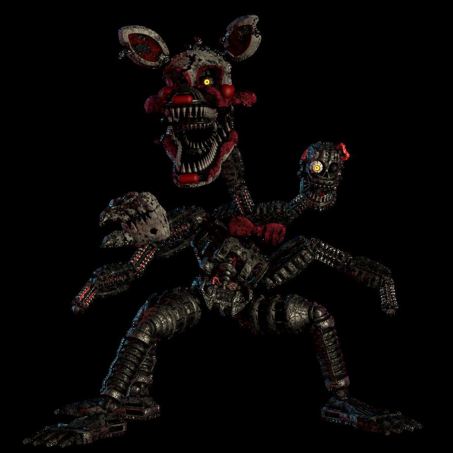 fnaf 4 mangle nightmare - photo #3