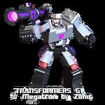 Transformers G1 Blender Megatron by Zono