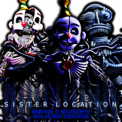 FNAF SL Ennard model Official halloween release!!! by AndyPurro