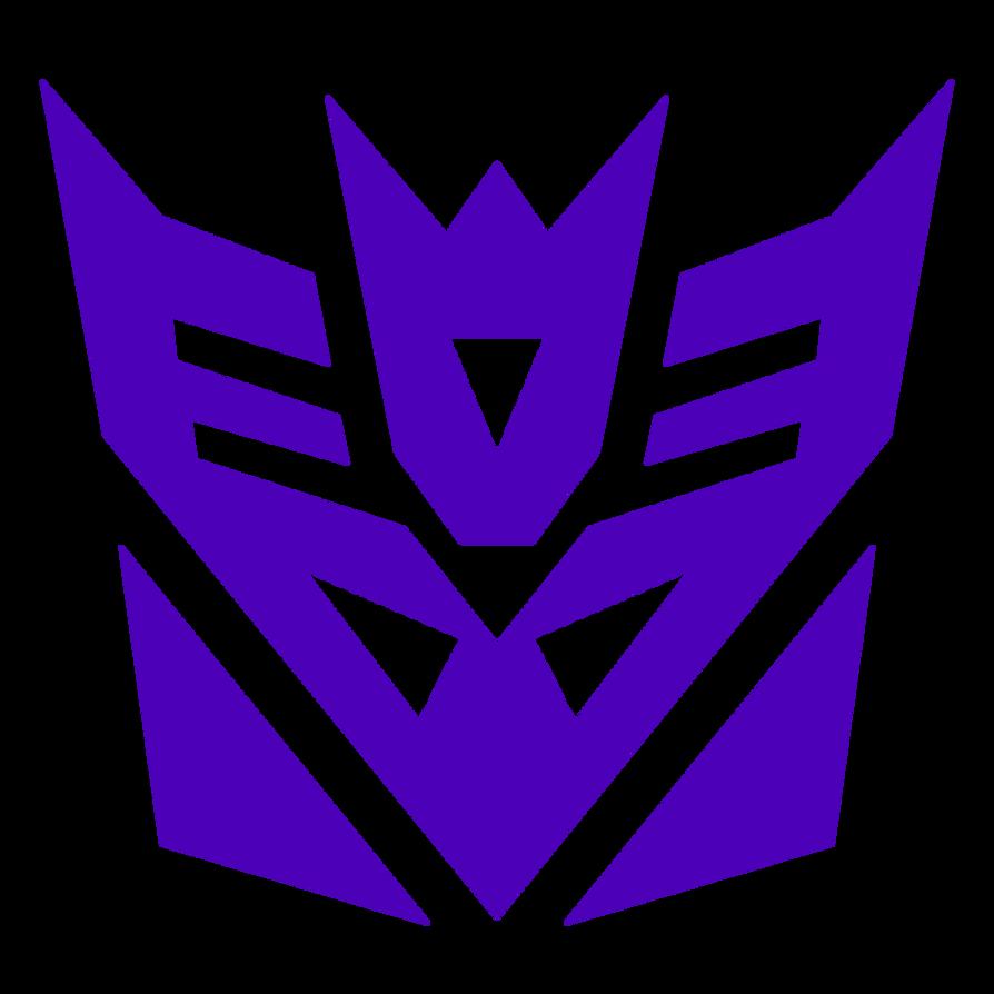 Transformers G1 Cartoon Accurate Decepticon Symbol By