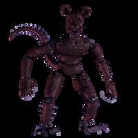 FNAC 3 Monster Rat V2 by AndyPurro