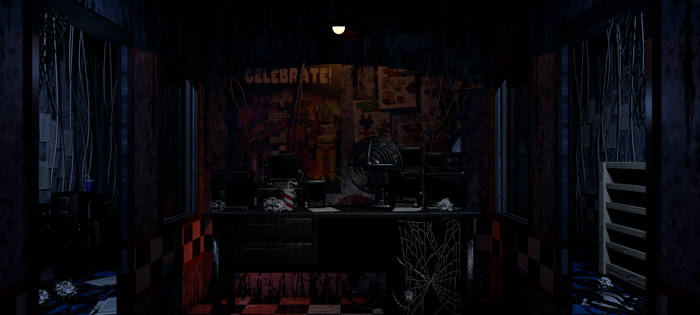 FNAF 1 Blender Map Office Release! by AndyPurro