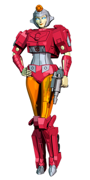 Transformers G1 Firestar model by AndyPurro