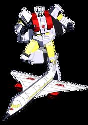Transformers G1: Silverbolt Blender model