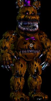 HW Nightmare Fredbear Remodel