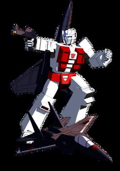 Transformers G1 Air Raid Blender model