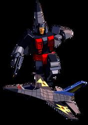 Transformers G1 Skydive Blender model