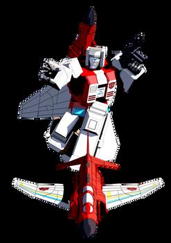 Transformers G1 Fireflight Blender model
