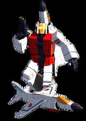 Transformers G1 Slingshot Blender model