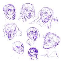 Some Facial Studies