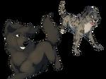 Baloo and Tibbs