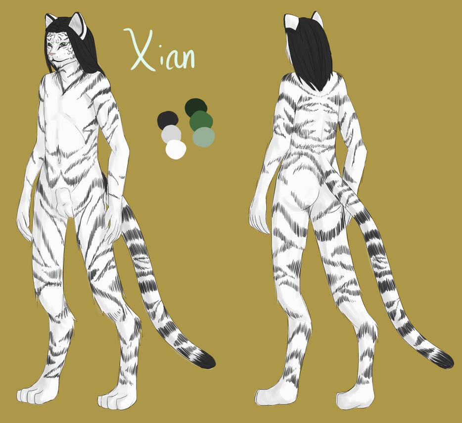 Xian reference sheet by Ayreth-Kirigashi