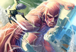 Attack on Titan(reproduction) by Sugisaki-Key