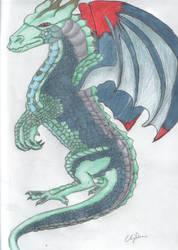 raindow dragon by ChanniGibson