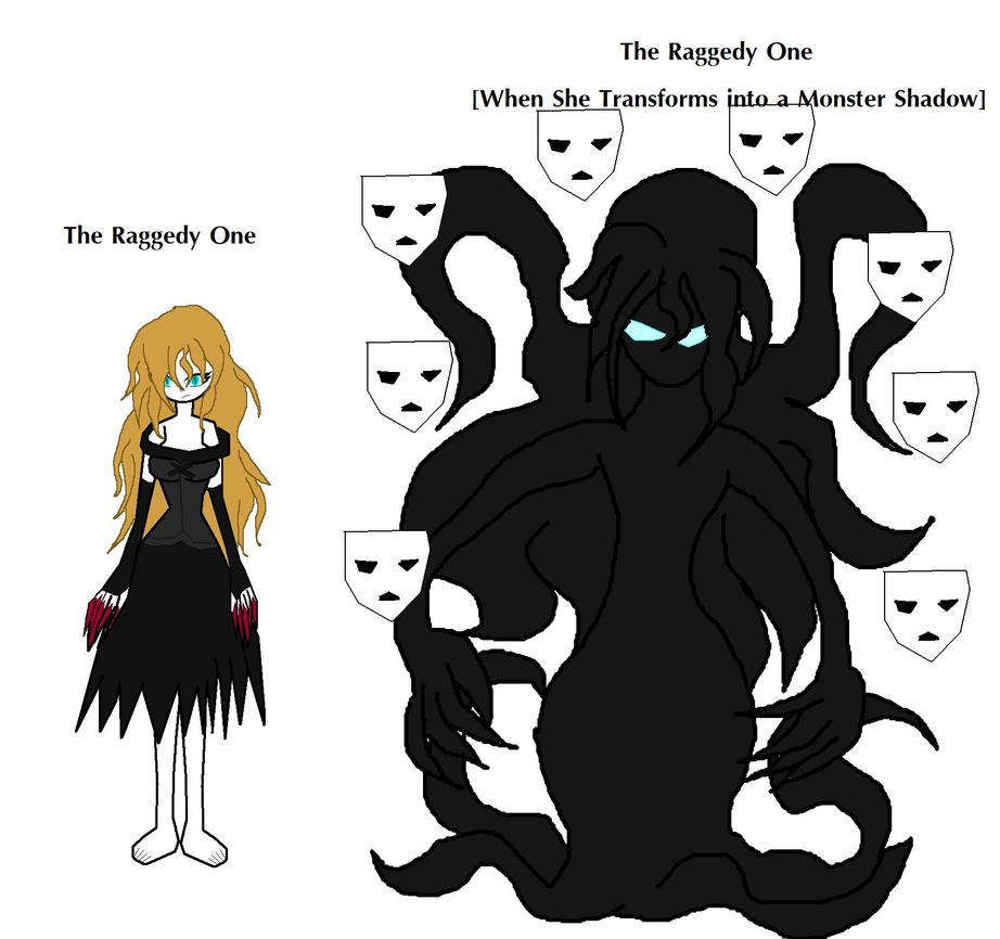 Creepypasta OC: The Raggedy One's Two Forms by Elzathehedgehog on ...