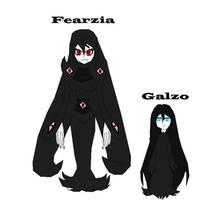 Creepypasta OCs: Fearzia and Her daughter Galzo