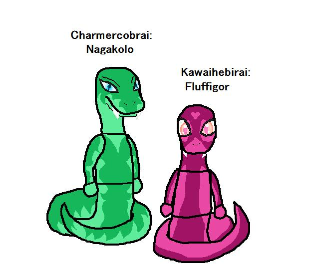Ninjago Ocs Nagakolo And Fluffigor By Elzathehedgehog On