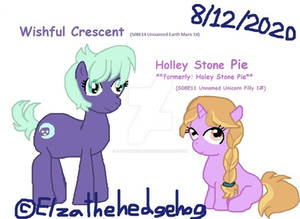 Wishful Crescent And Holley Stone Pie (2020)