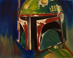 Boba Fett Profile Shot (Star Wars)