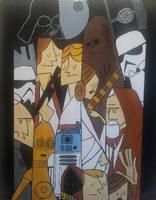 Star Wars ( Star Wars Collage ) by Withoutum