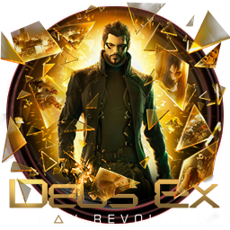 Deus Ex Human Revolution Icon by OutlawNinja