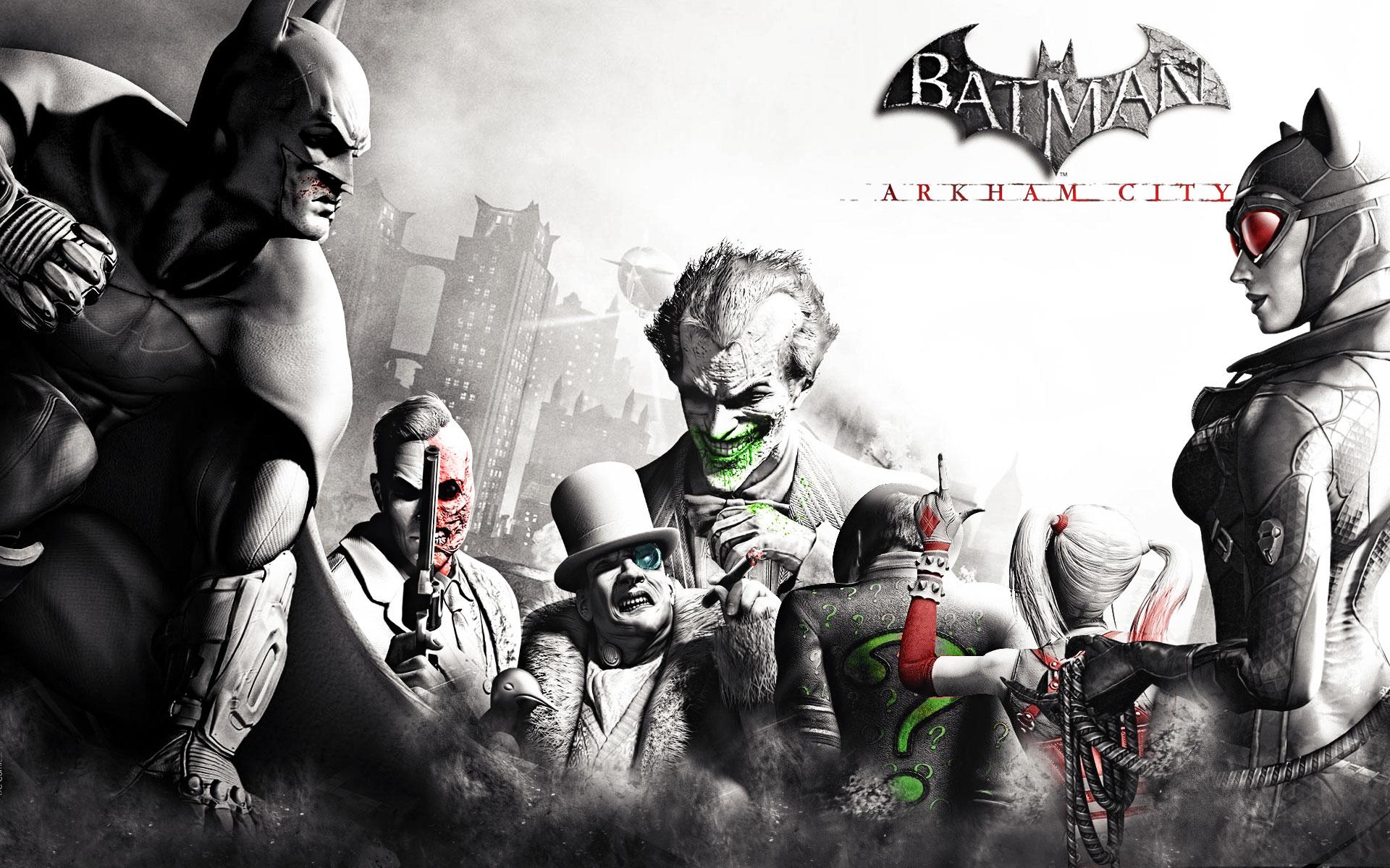 Batman Arkham City Wallpaper Arlequina: Batman Arkham City Wallpaper By OutlawNinja On DeviantArt