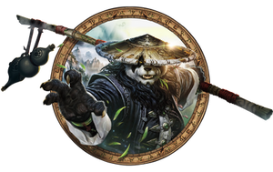 World of Warcraft Mists of Pandaria Render/Icon by OutlawNinja