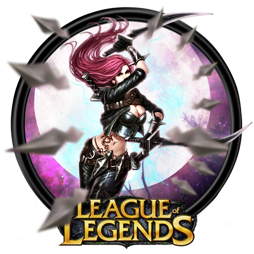 League Of Legends Katarina Dock Icon By Outlawninja On Deviantart