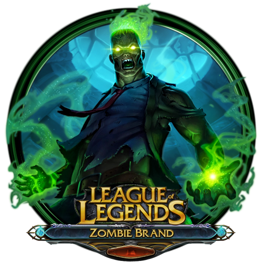 League of Legends Zombie Brand by OutlawNinja on deviantART
