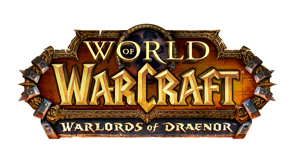 World of Warcraft 'Warlords of Draenor' Logo by OutlawNinja