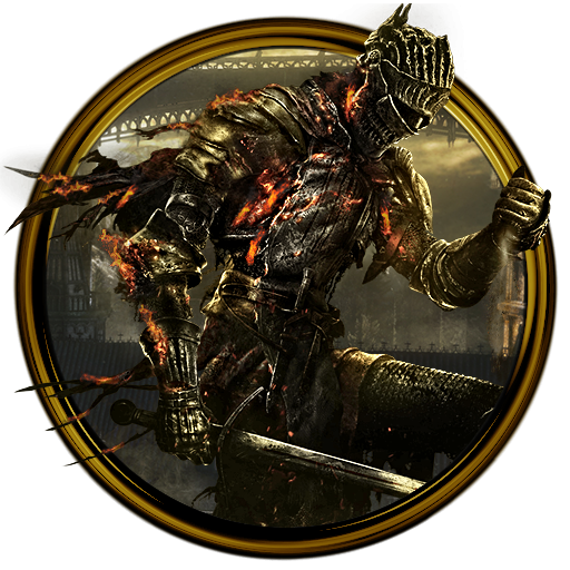 Dark Souls 3 Dock Icon (no text) by OutlawNinja on DeviantArt