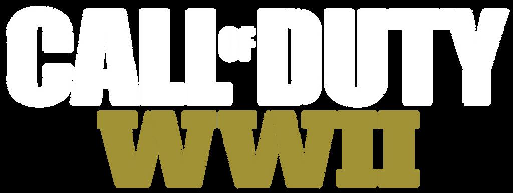 Call of Duty World War II logo plain