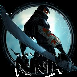 Mark of the Ninja Dock Icon by OutlawNinja