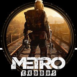 Metro Exodus Dock Icon by OutlawNinja
