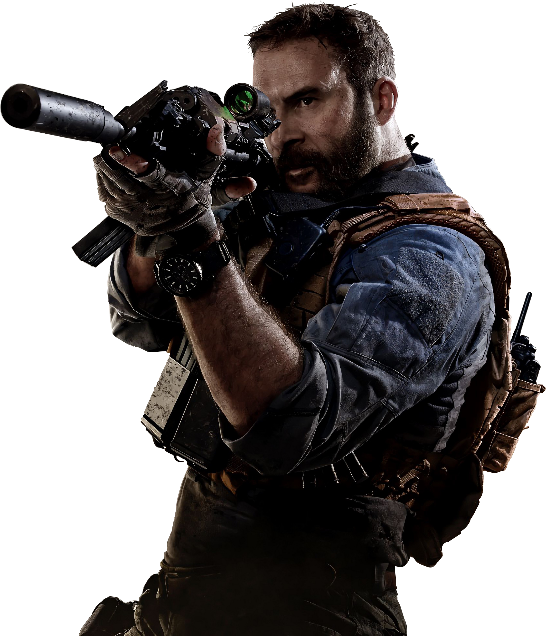 Call Of Duty Modern Warfare Captain Price Render by ...