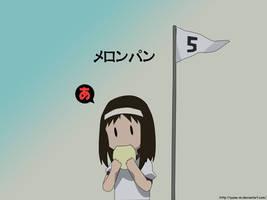 Azumanga - Osaka Meronpan
