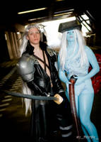 Jenova and Sephiroth