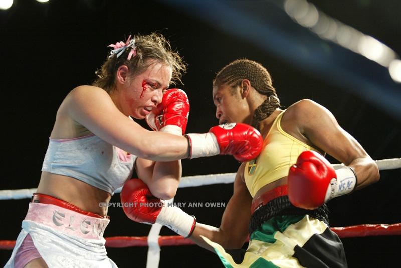 Alicia Ashley vs Elena Reid by GokuDBZ