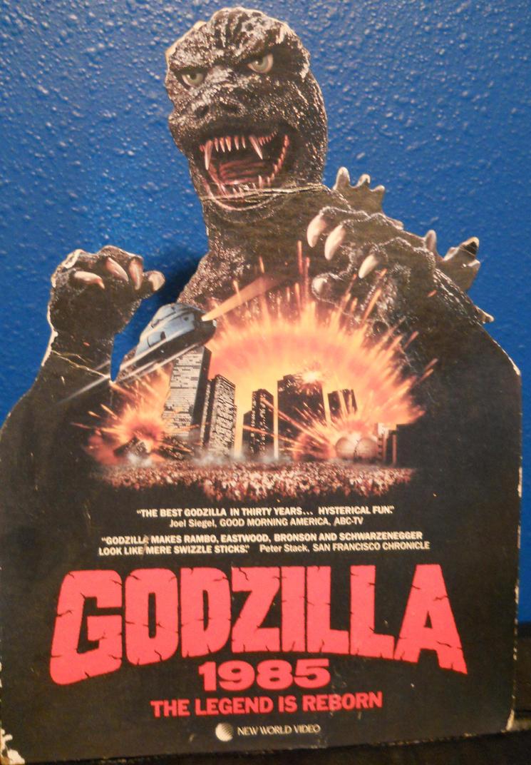 Godzilla 1985 Promo Standee by Malidicus on DeviantArt