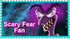 Scary Fear Stamp by Malidicus