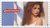 Gloria Estefan Stamp by Malidicus