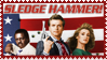 Sledge Hammer TV Series Stamp by Malidicus