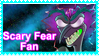 Scary Fear Fan stamp by Malidicus