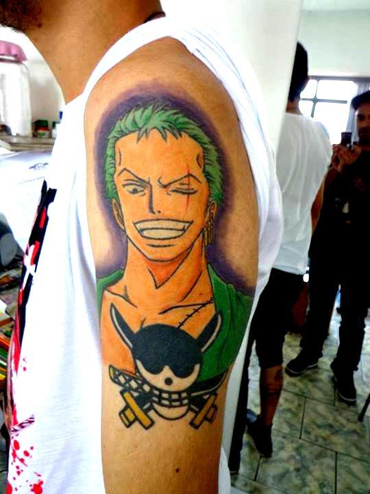 My Zoro Tattoo by DesertoMental on DeviantArt