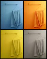 4 colors 1 towel by austincraver