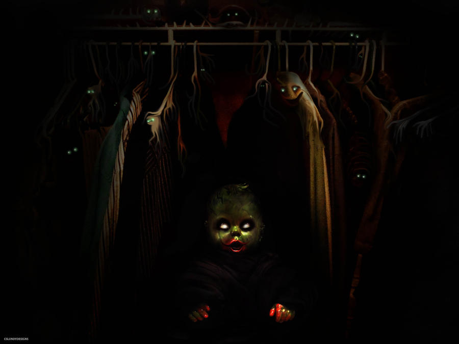 Closet Nightmare by CSLUNDY