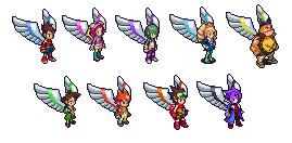 Starforce Angels by SilverBeastLaguz